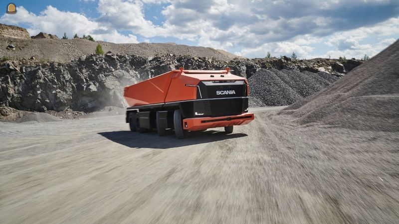 Scania en Rio Tinto testen autonome truck in westelijke Australische mijn