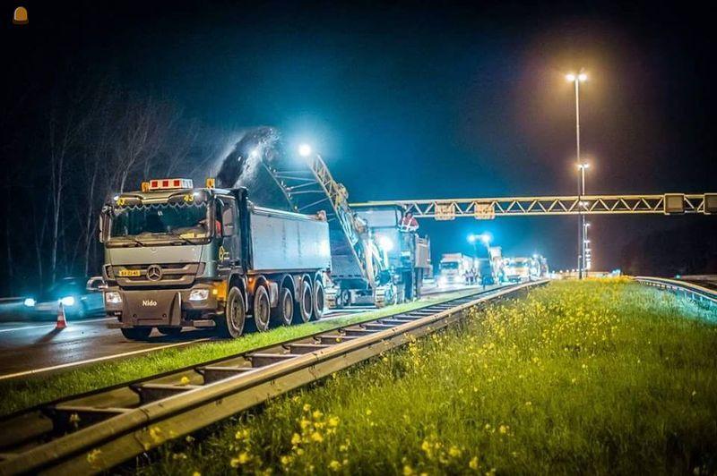 Gestolen kippervrachtauto van Transportbedrijf G de Bruyn Oudewater