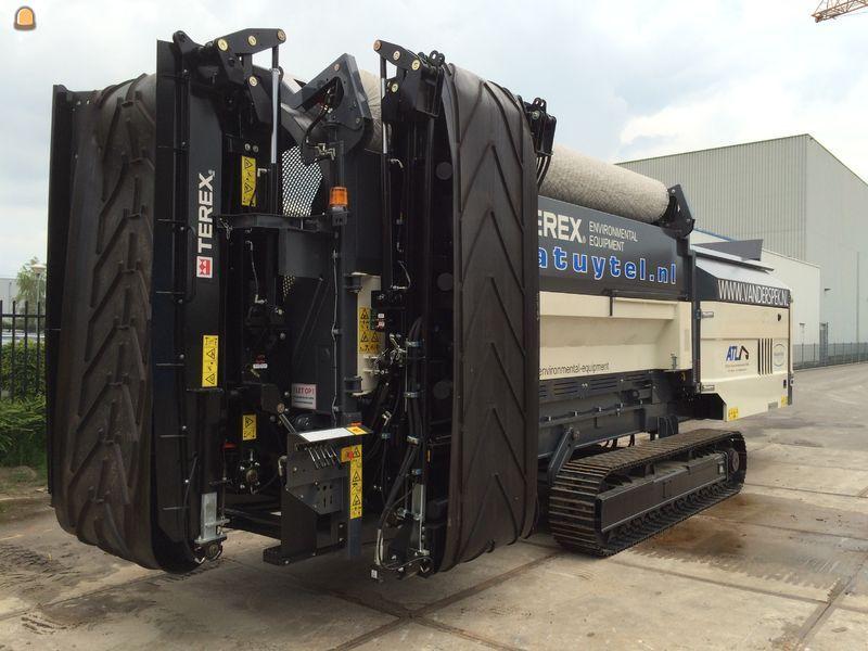 Duo Terex Ecotec TTS620's trommelzeven voor A. Tuytel Loon- en verhuurbedrijf B.V.
