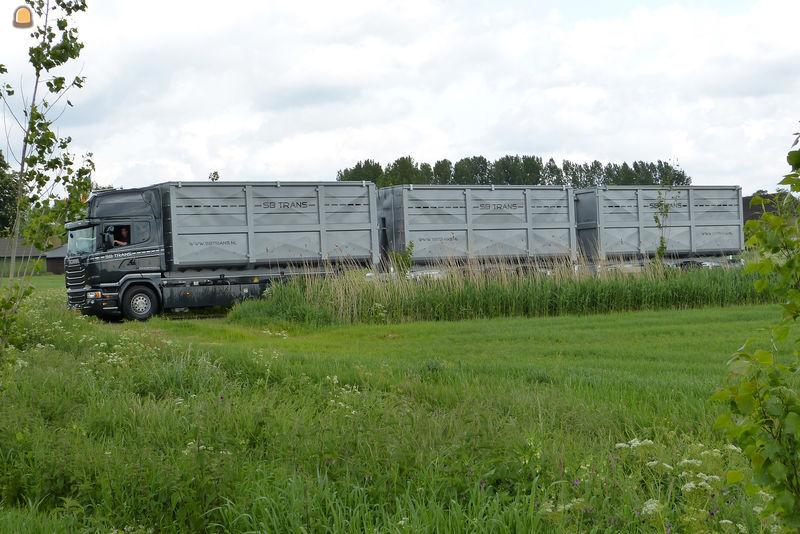 Bijzondere Scania R450 6x2 als ecocombi voor SB Trans Sint Oedenrode