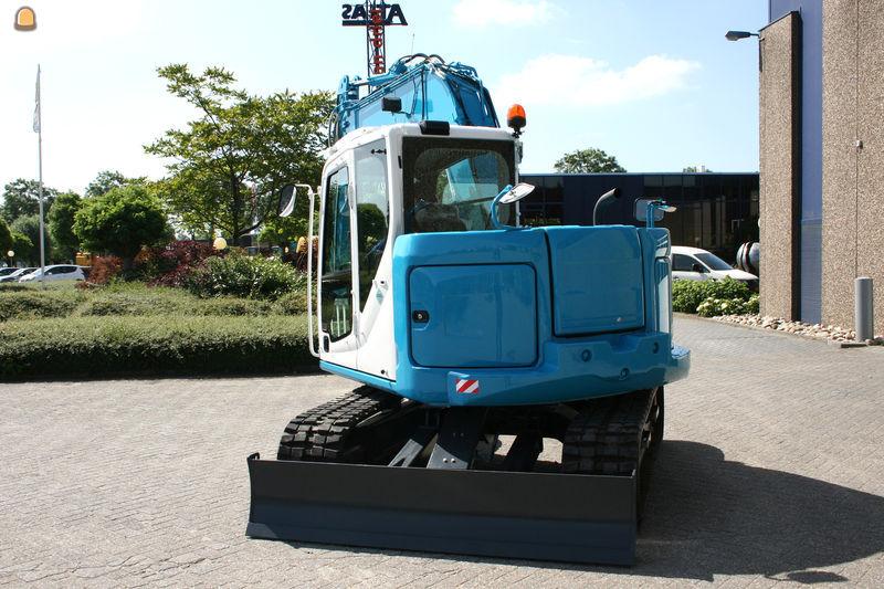 Rupskraan Kobelco SK75SR voor Sander Vink Overasselt