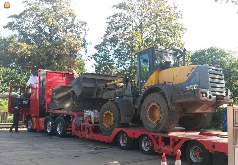 13 ton wielladers van Werklust ingeruild