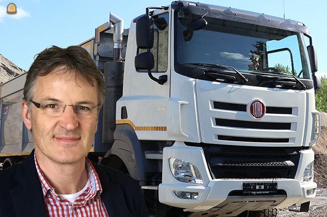 Gerrit van der Garde Dealer Account Manager bij TATRA Nederland