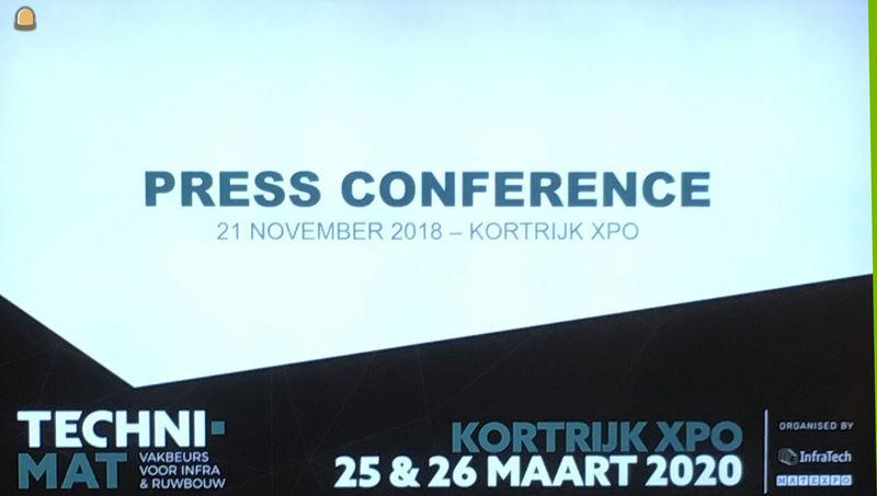 Op de persconferentie (21/11/2018) werd de nodige toelichting gegeven over Techni-Mat
